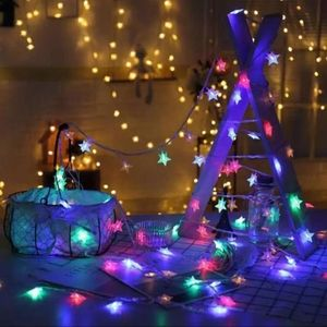 Solar powered Christmas/Party string lights
